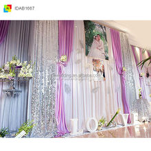 events/wedding/trade shows Portable wedding curtain,pipe and drape kits