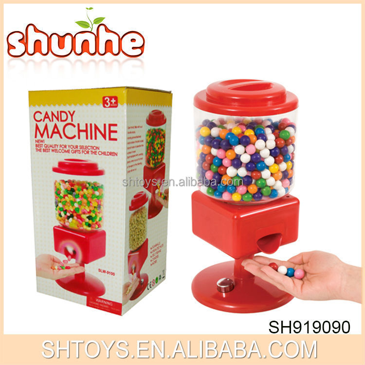 candy dispenser electric reaction candy machine toy make in china