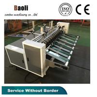 High speed leaving board Machine,Automatic grade, Used Corrugated Carton box making machine