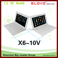 chinese mini laptop 10 inch VIA WM8850 android 4.1 china low price