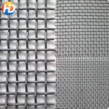 8mm diameter hot woven crimped wire screen coal mine supporting mesh