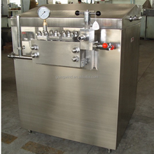 Automatic small milk homogenizer machine commercial auto yoghurt ketchup fruit juice homogenizing machinery cheap price for sale
