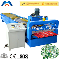 High Quality Trapezoidal Metal Sheet Roofing Roll Forming Machine