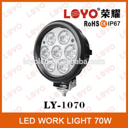 2014 Hot selling auto 12v led driving lights, super bright led driving light, 70w led driving lights