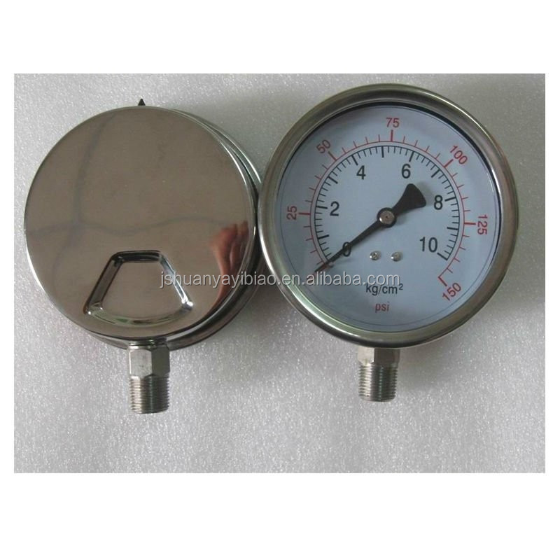 Measuring Natural Gas Pressure Gauge