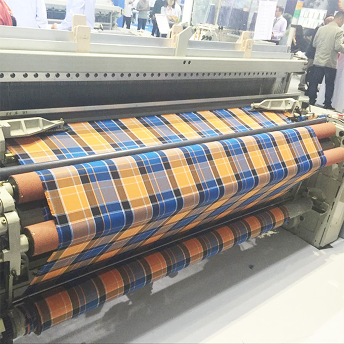 Air jet loom weaving loom power loom textile machines with crank/cam shedding
