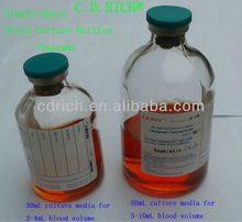Single-phase Blood Culturing Bottles (for manual use)