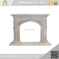 High Efficiency and Quality french style marble fireplace
