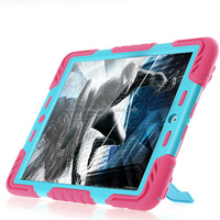 tablet pc rubber case for ipad mini, kids silicone flip case cover for ipad mini