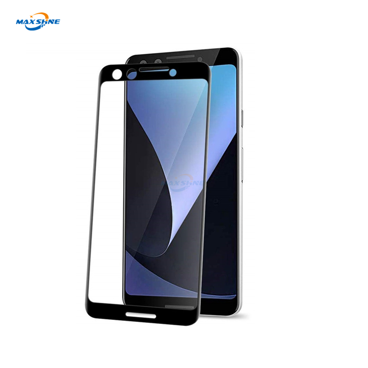 Maxshine 9H Screen Protector Roll Material For Pixel 3  Mobile Phone Silk Print Tempered Glass