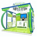 Detian Offer show exhibition design custom trade show booth display