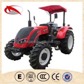 Henan top 10 brand 25-130hp professional suppilier 70hp tractor and tractor implement