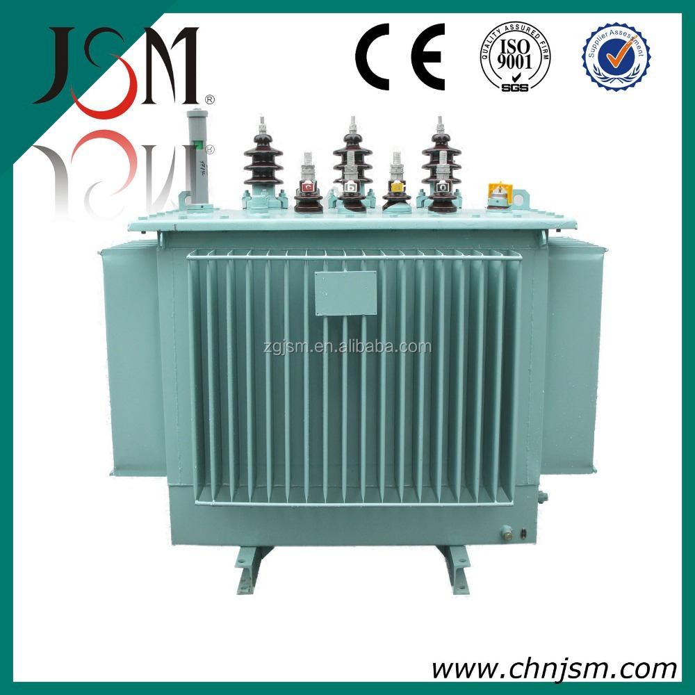 11 KV 630 KVA S9 Series Oil Immersed Power Transformer