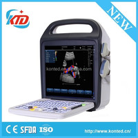 Brand New 15 inch LCD monitor color doppler two usb ultrasound scanner machine
