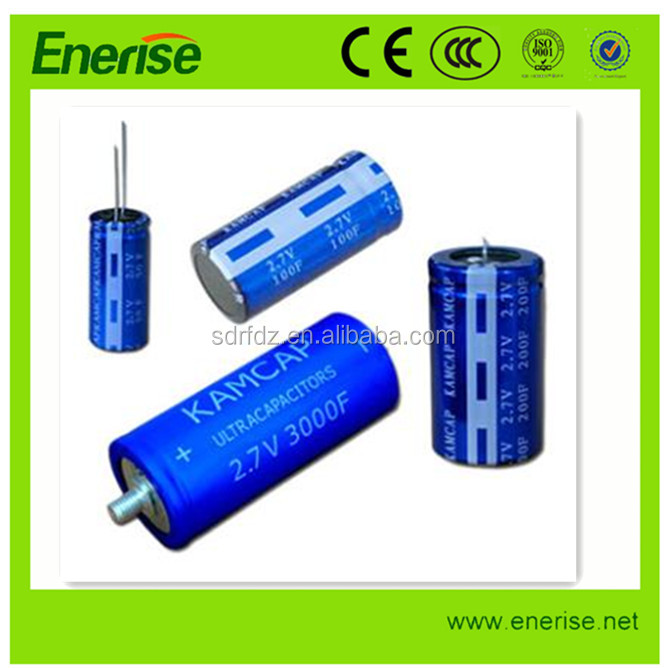 High power 2.7v 5000f super capacitor ultracapacitor