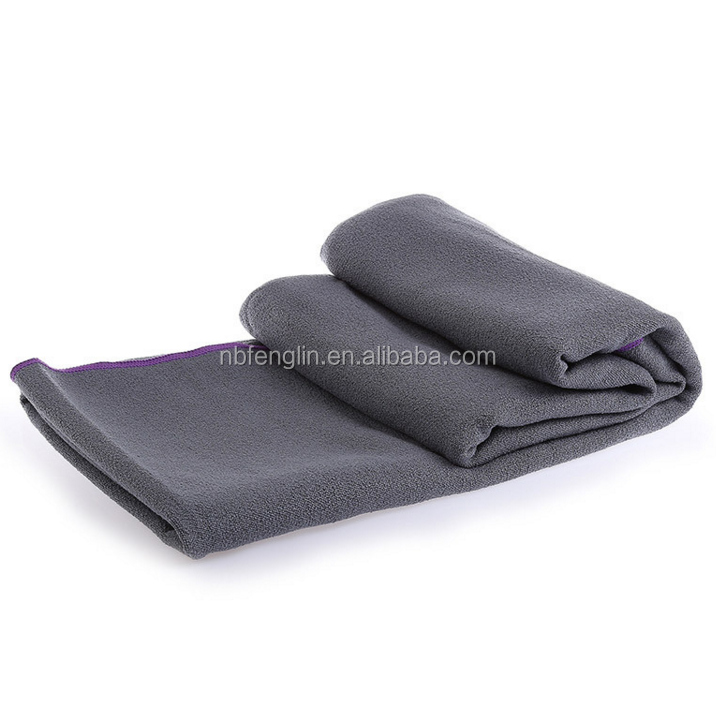 Alibaba China Custom Quick Dry Non Slip Heavy Microfiber Hot Yoga Sports Gym Towel
