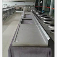 Commercial Bathroom Sink Countertop stainless steel drain board