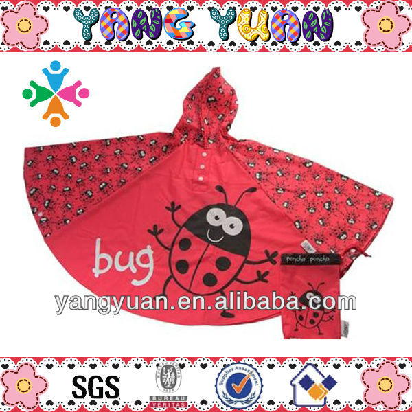 children hooded towel bicycle fashion poncho unique