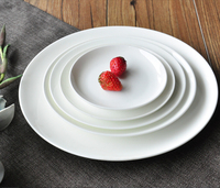 ceramic dinner plate!Haonai wholesale cheap ceramic dinner plate