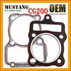 High Proformance CG 200 Motorcycle Engine Cylinder Head Cover Gasket
