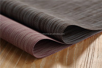 China suppliers washable handmade fabric dining table mat