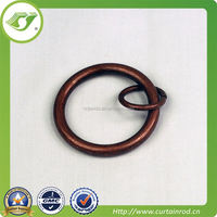 hinged curtain rod ring,curtain rod ring with clip