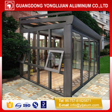 New design aluminum frame profile for sunroom