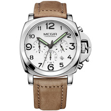 Megir Brand Chronograph Sports Army Military Best Selling Watches Men