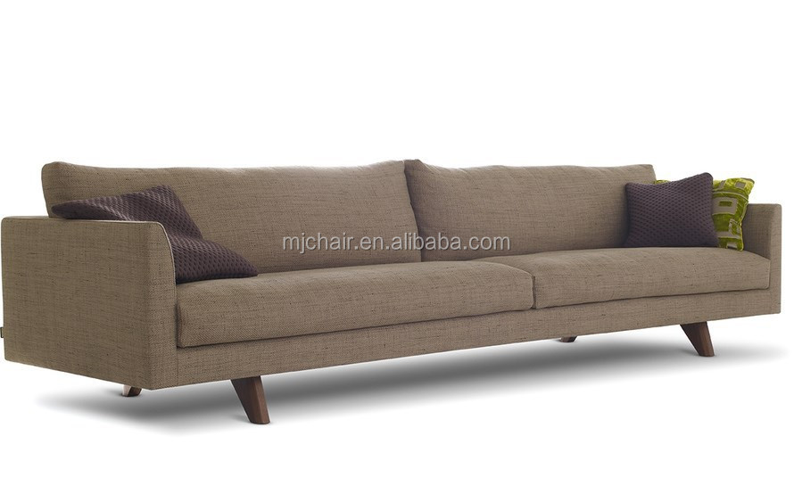 Classic Fabric Extra Long Sofa