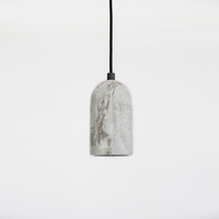 Art modern home living room marble lamp decorative hanging pendant light led ceiling lights