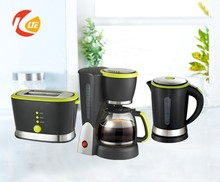 Plastic electric kettle set, plastic kettle, 3 in 1 breakfast maker