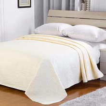For Home Fashion Solid Microfiber Quilts Made In India