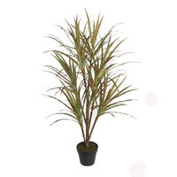 120cm high potted artificial dracaena tree