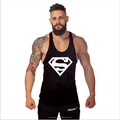Oversizes gym vest bodybuilding and fitness men's solid tank top empty golden for customized wholesale