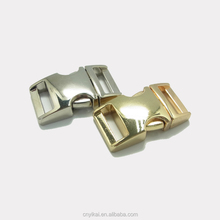 China supply various quick side release metal zinc alloy adjustable buckle