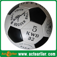 PU hand sewn match soccer ball/football