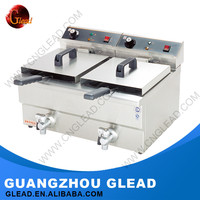 2016 Glead Commercial Industrial Fish And Chips Deep Fryer Machine