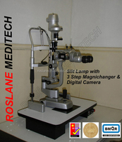 Digital Slit Lamp / Digital Optical Slit Lamp / Digital Ophthalmic Slit Lamp / Digital Slit Lamp with Motorized Table