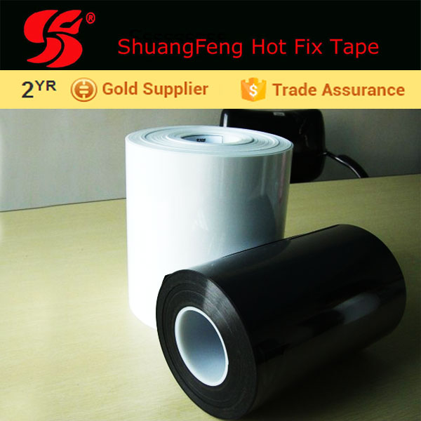 Silicon Acrylic hot fix tape transfer paper roll for Eco Friendly Feature glass ceramic polyresin Bamboo Hairbands furniture