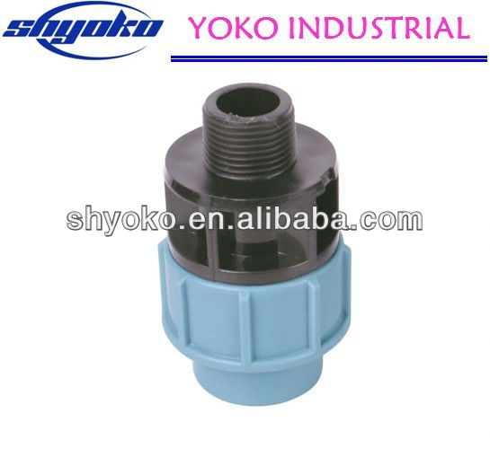 2014 China high quality PP coupling fittings Pipe Fittings industrial look furniture