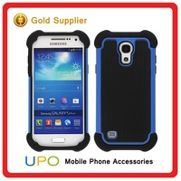 [UPO] High Quality Tough Ballistic Shockproof Armor Mobile Cover Case for Samsung Galaxy S4 mini