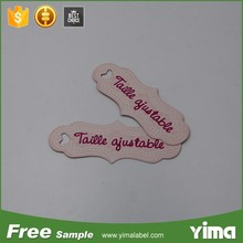 China custom made logo jewelry tags and jewelry price tag