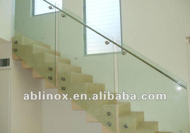 diseo moderno de acero inoxidable escalera de para escaleras de interior buy product on alibabacom with escaleras de acero inoxidable y cristal