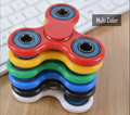 2017 new plastic design metal tri hand spinner fidget toys ceramic bearing