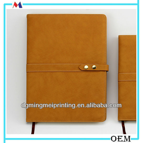 PU leather b4 size notebook