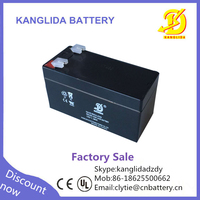 rechargeable sealed lead acid 1.3ah battery, 12 volt 1.3 ah battery