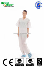 Hospital Patient Pajama kits / Surgical Gown with short sleeve
