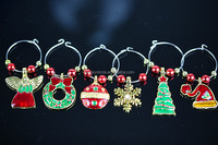 Beautiful custom wine charms for party decoration