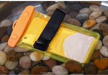 Unbreakable phone bag transparency PVC waterproof touch phone cover