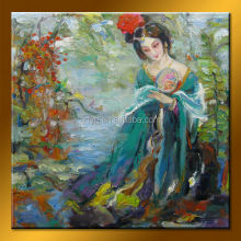 Wholesale Handmade Beautiful Nude Girl Picture Hot Canvas Oil Painting
